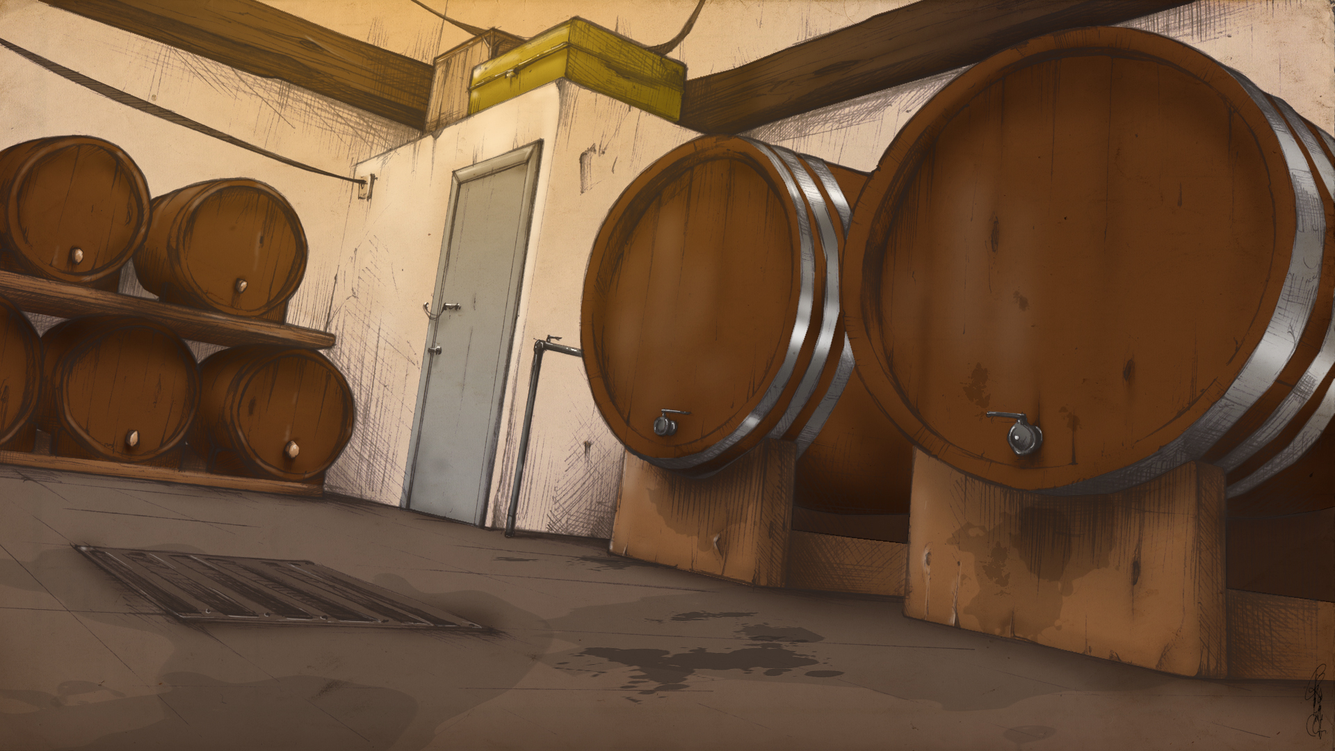 alcoholic fermentation beer barrels