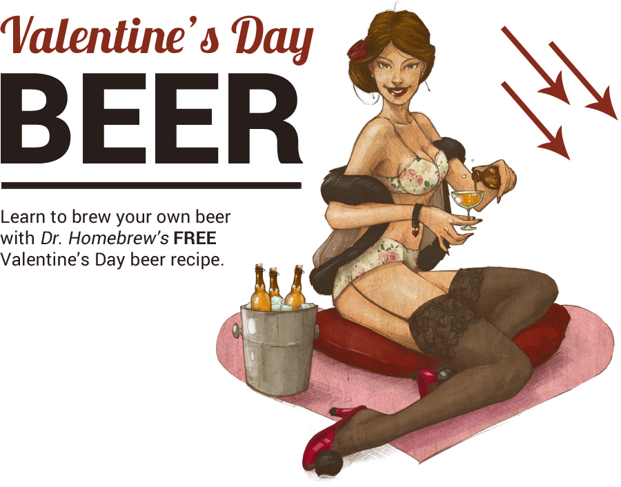 Valentines Day beer recipe download